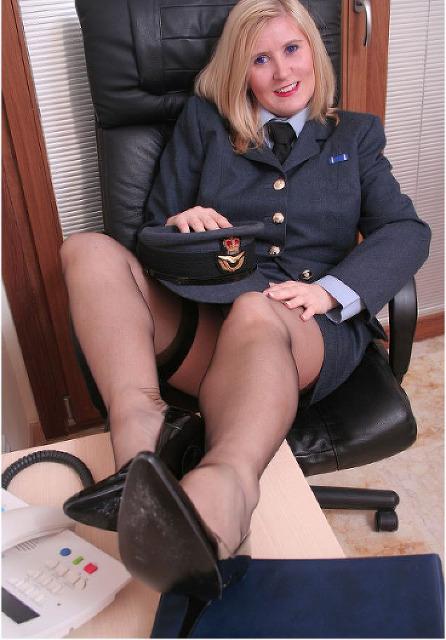 Franziska - In Uniform, nur für Dich!
